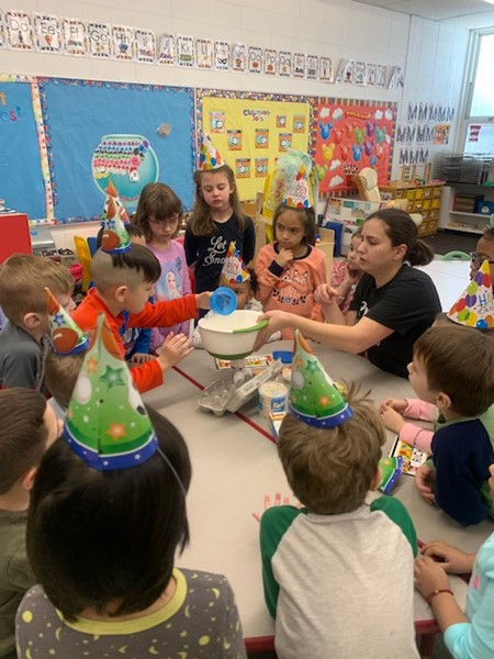 Decker students celebrate Dr. Seuss' birthday!