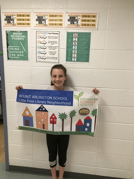 Free LIttle Library Banner Winner - Julia Ireland