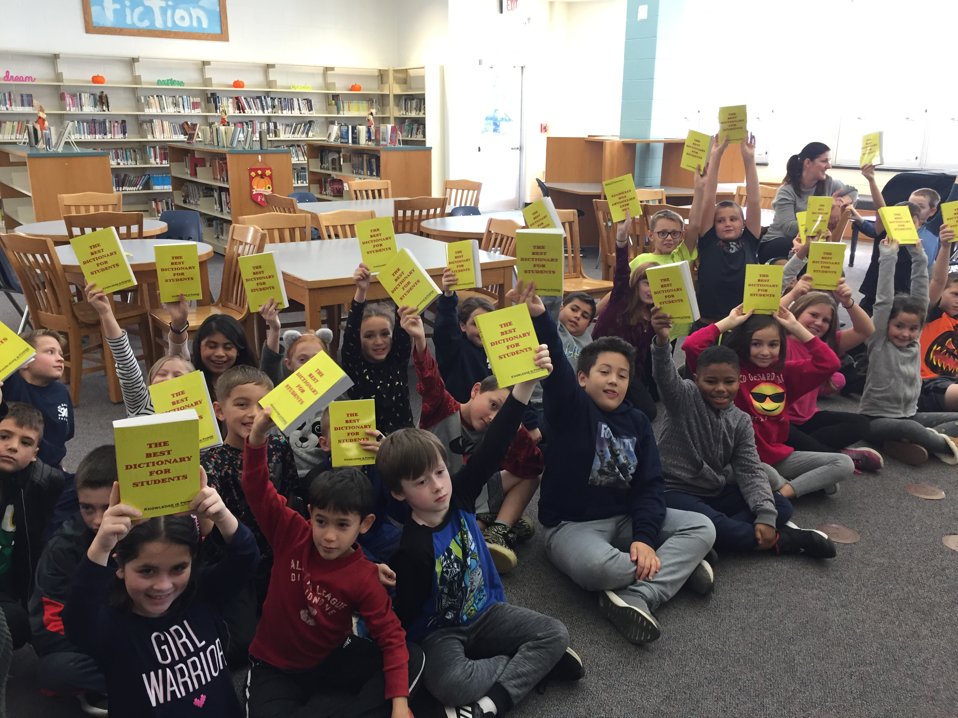 Rotary Club Dictionary Donations to 3rd Grade