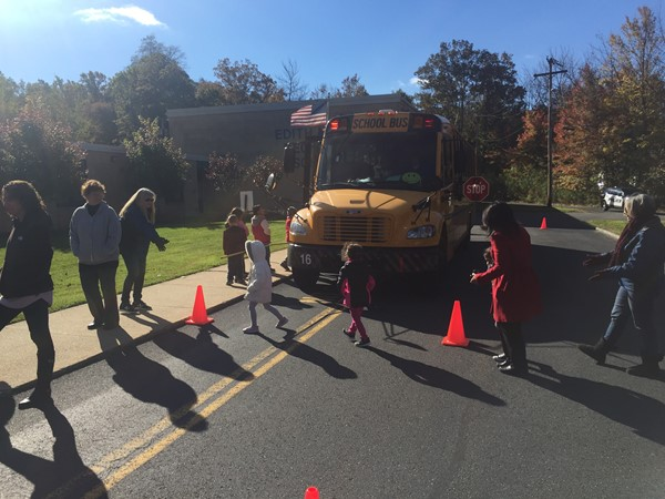 Bicycle and Pedestrian Safety - Bus Evacuation Drill